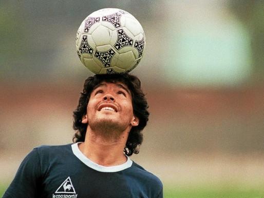 La légende du Football , Diego Armando Maradona est décédé à l'âge de 60 ans.