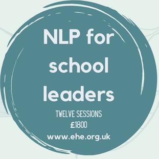 Twelve session NLP for school leaders
