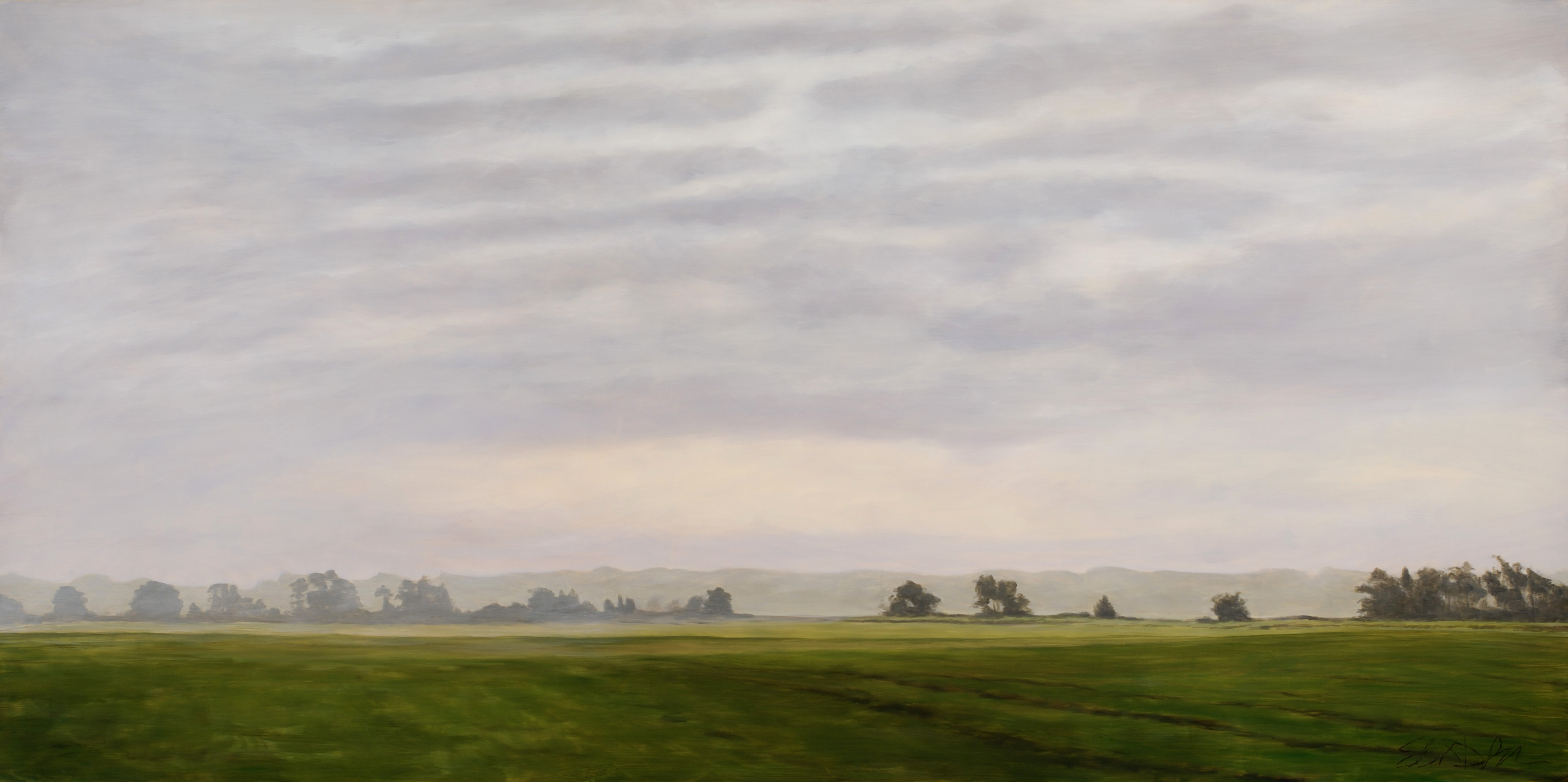 Highland Terrace Sunrise 36x72