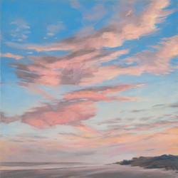 Pink Evening Clouds 20x20 201611