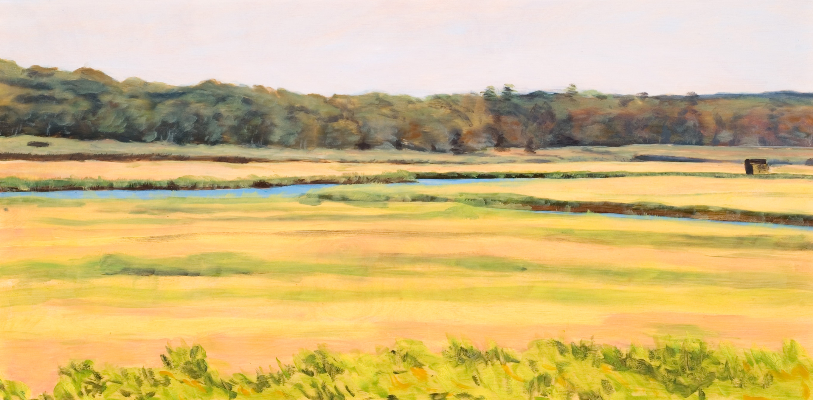 Salt Marshes Early Fall 12x24 2006