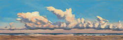 Parade of Clouds 12x36 201501B