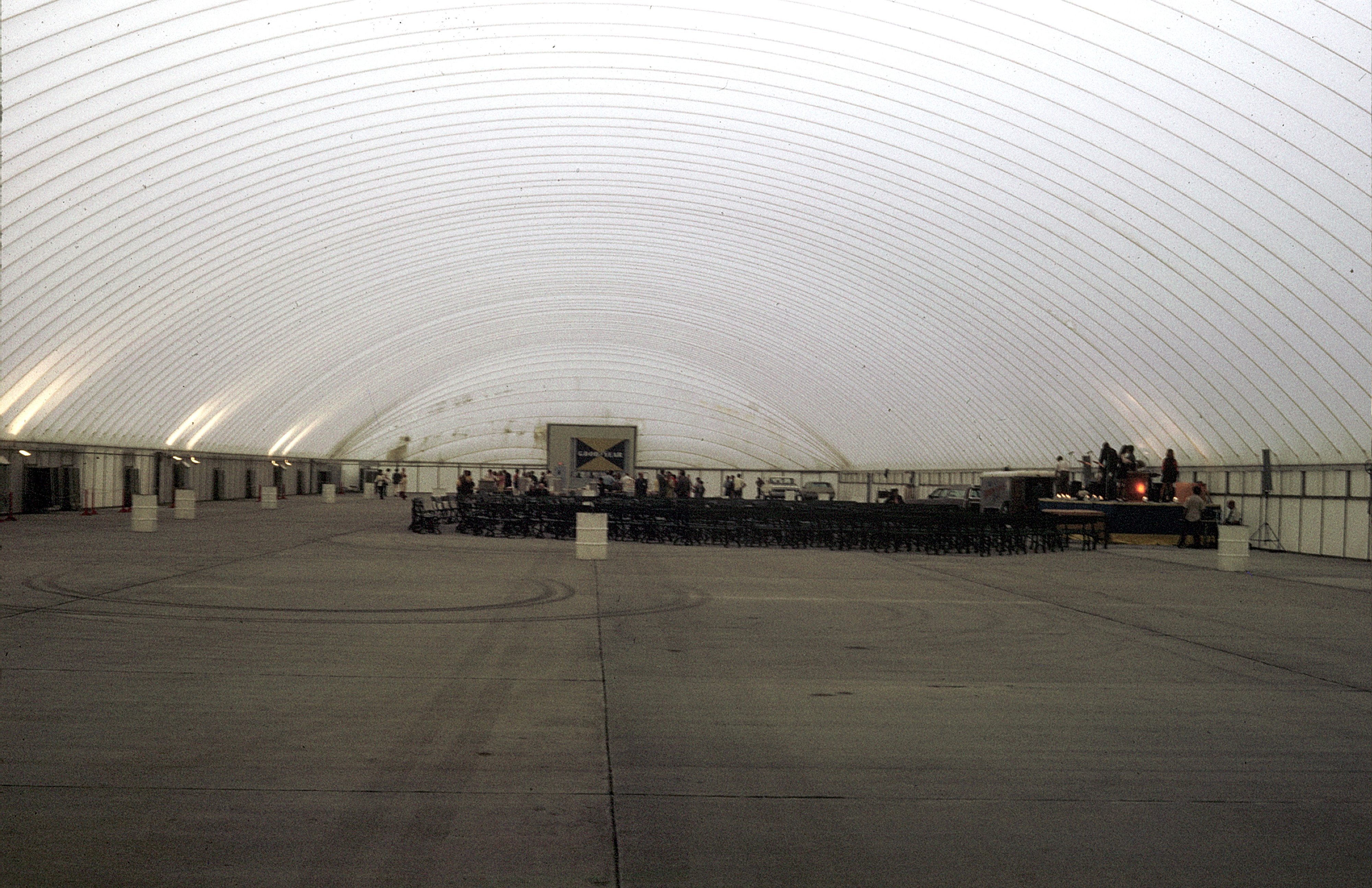 inside panoramic warehouse