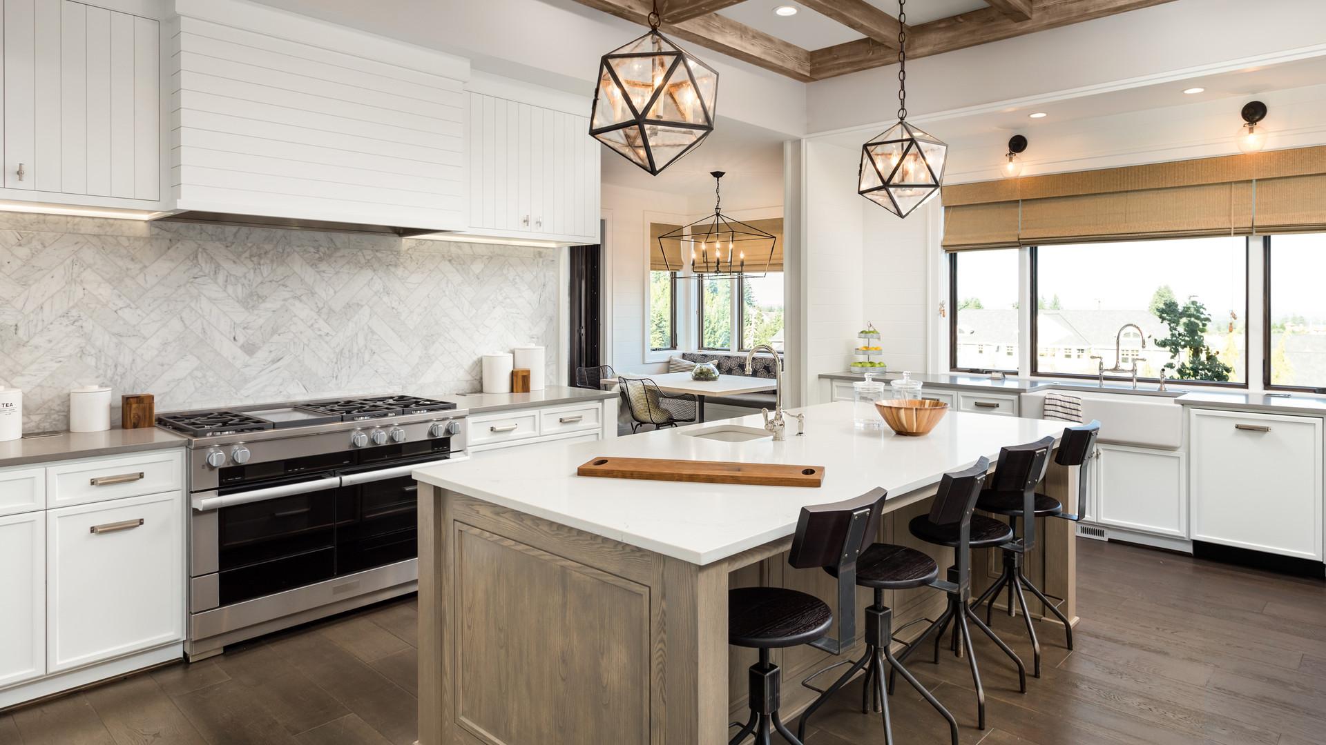 Luxury Home Kitchen Island Improve Home