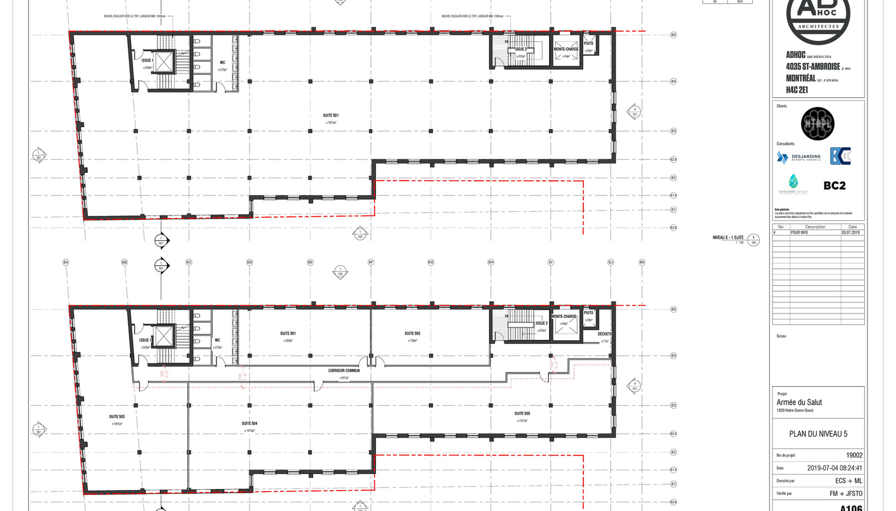 Potential Floor Layouts