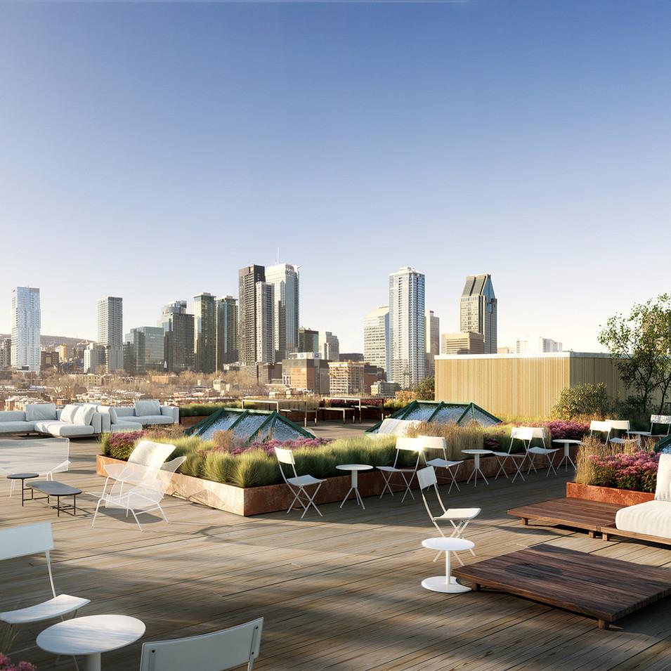 Rooftop Terrace | Terrasse sur le toit