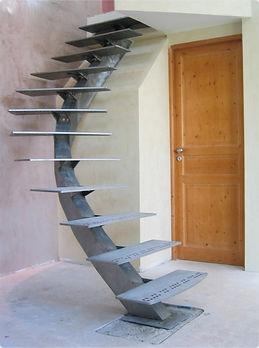 Escalier débillardé à Montpellier