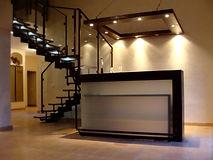 Escalier verre et acier, fabricant dans l'Hérault