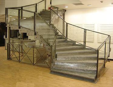 Fabricant d'escaliers pour ERP à Montpellier