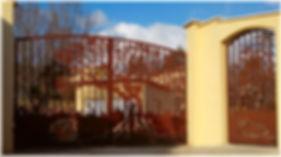 Fabricant portail en acier corten à Montpellier