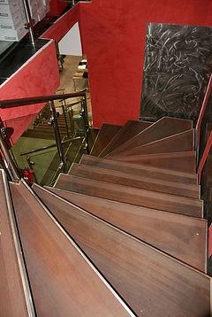 Rénovation d'escalier pour ERP