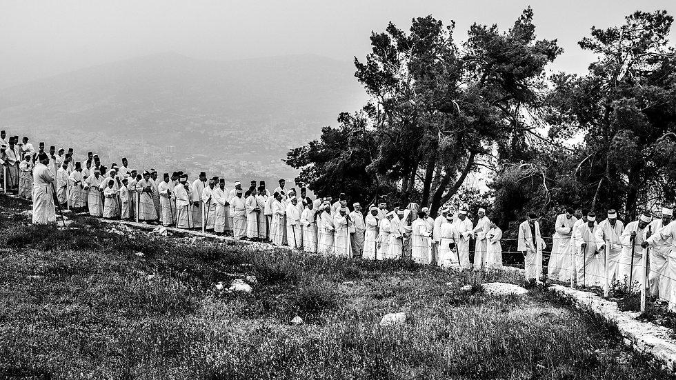 Mount Gerizim, West Bank, Apr. 2014