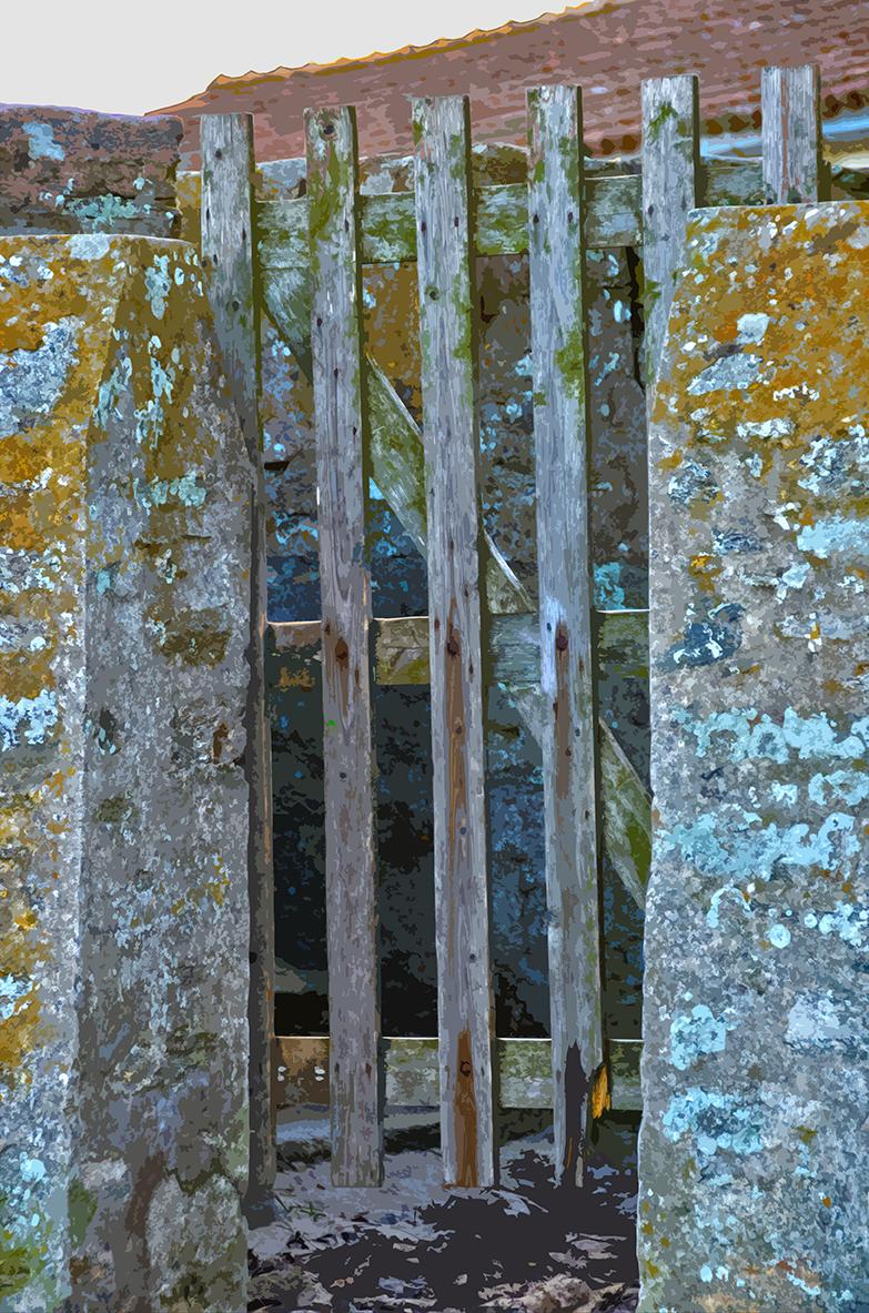 Porte grise – La Clère