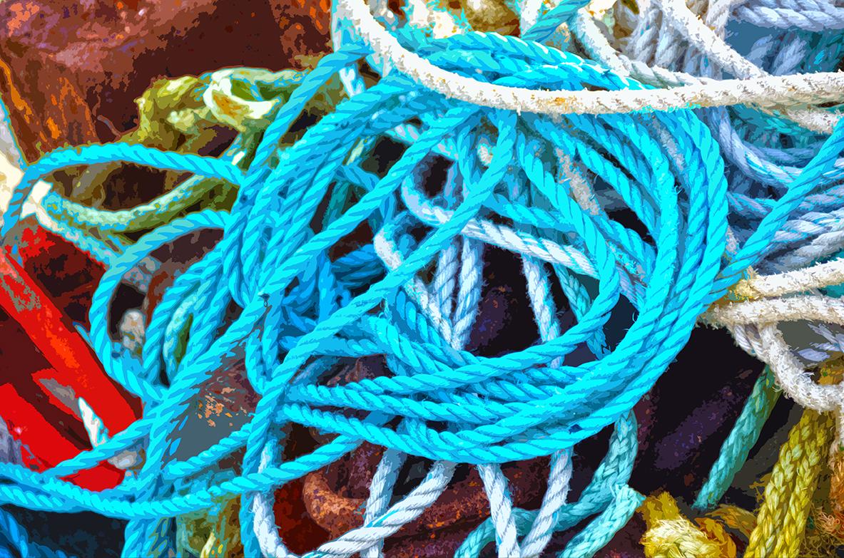Tas de cordages – 2 - L'Herbaudière