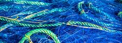 Filet bleu et cordage vert – 3