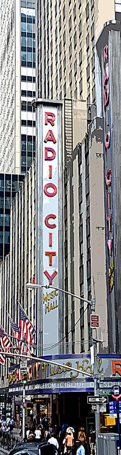 Radio city - Manhattan