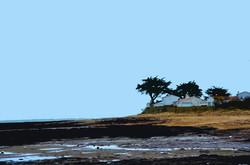 Maisons à marée basse