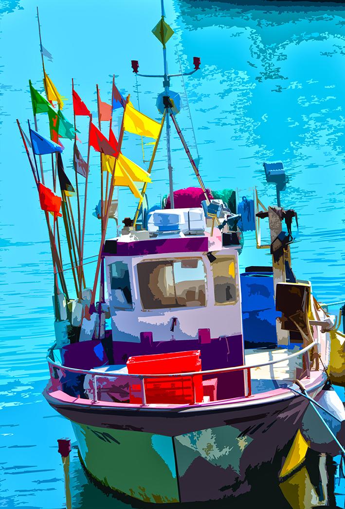 Bateaux au port - 5