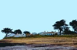 Maisons et plage - Le Petit Vieil