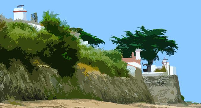 Maison sur la plage – Le Petit Vieil