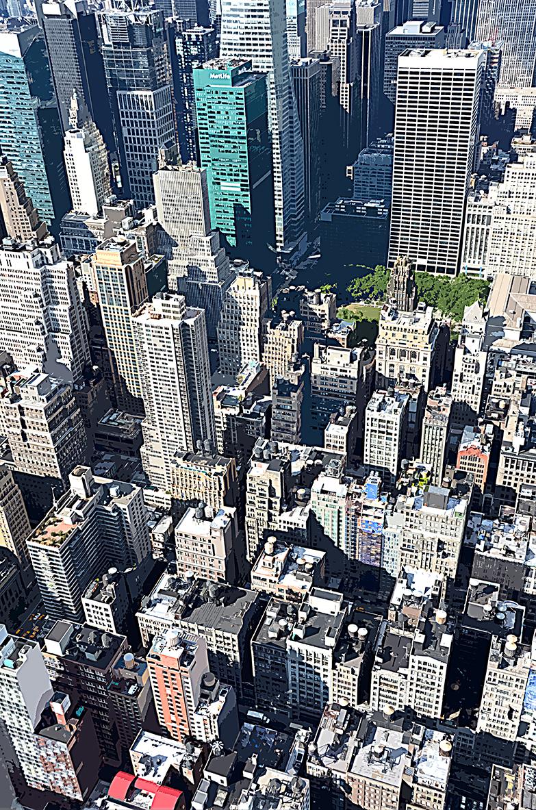 Building vue d'en haut – 8