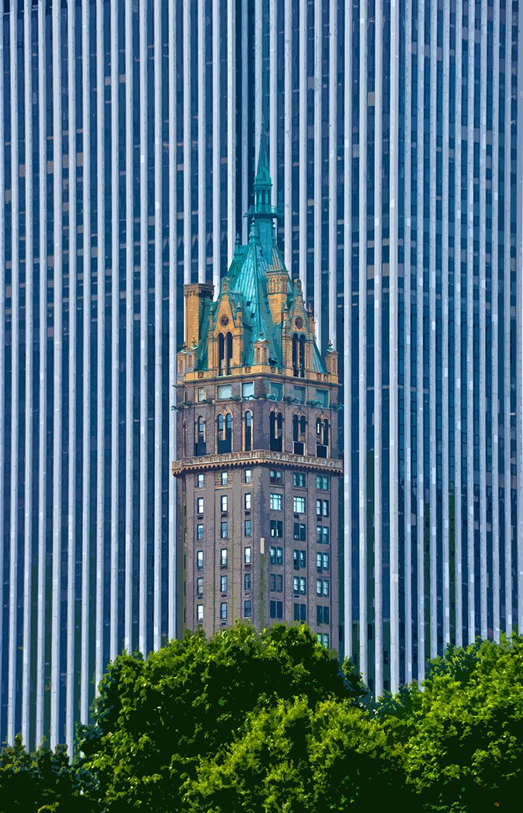 Ancien et nouveau – 2 - Manhattan