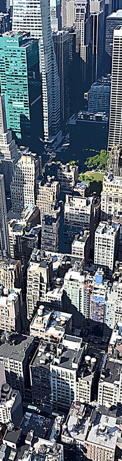 Building vue d'en haut – 5