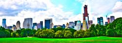 Central park building - Manhattan
