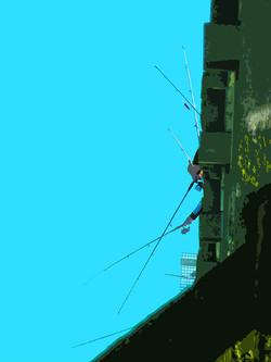 Estacade - Pêche à la ligne