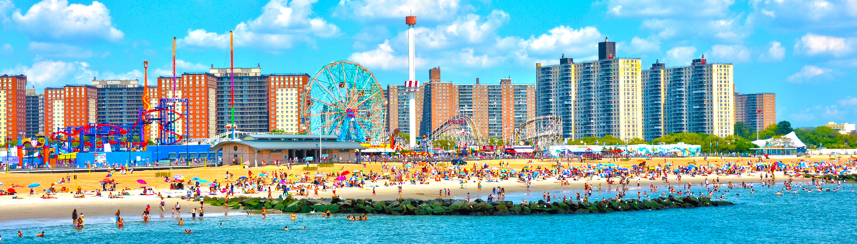 Parc d'attraction - Coney Island