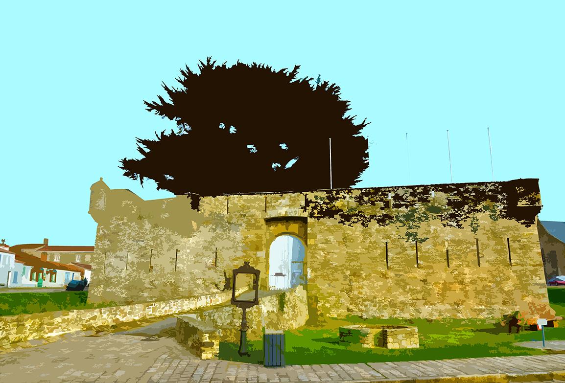Chateau vue d'ensemble