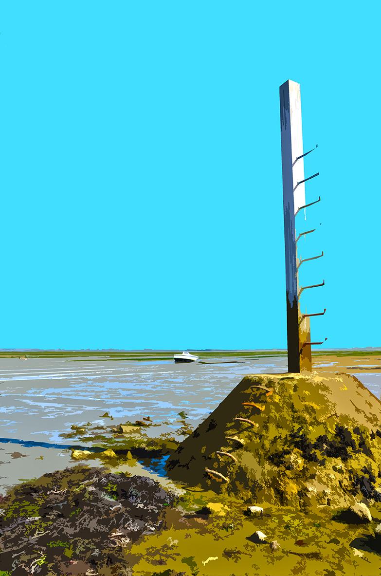 Refuge et bateau sur le Gois - 2