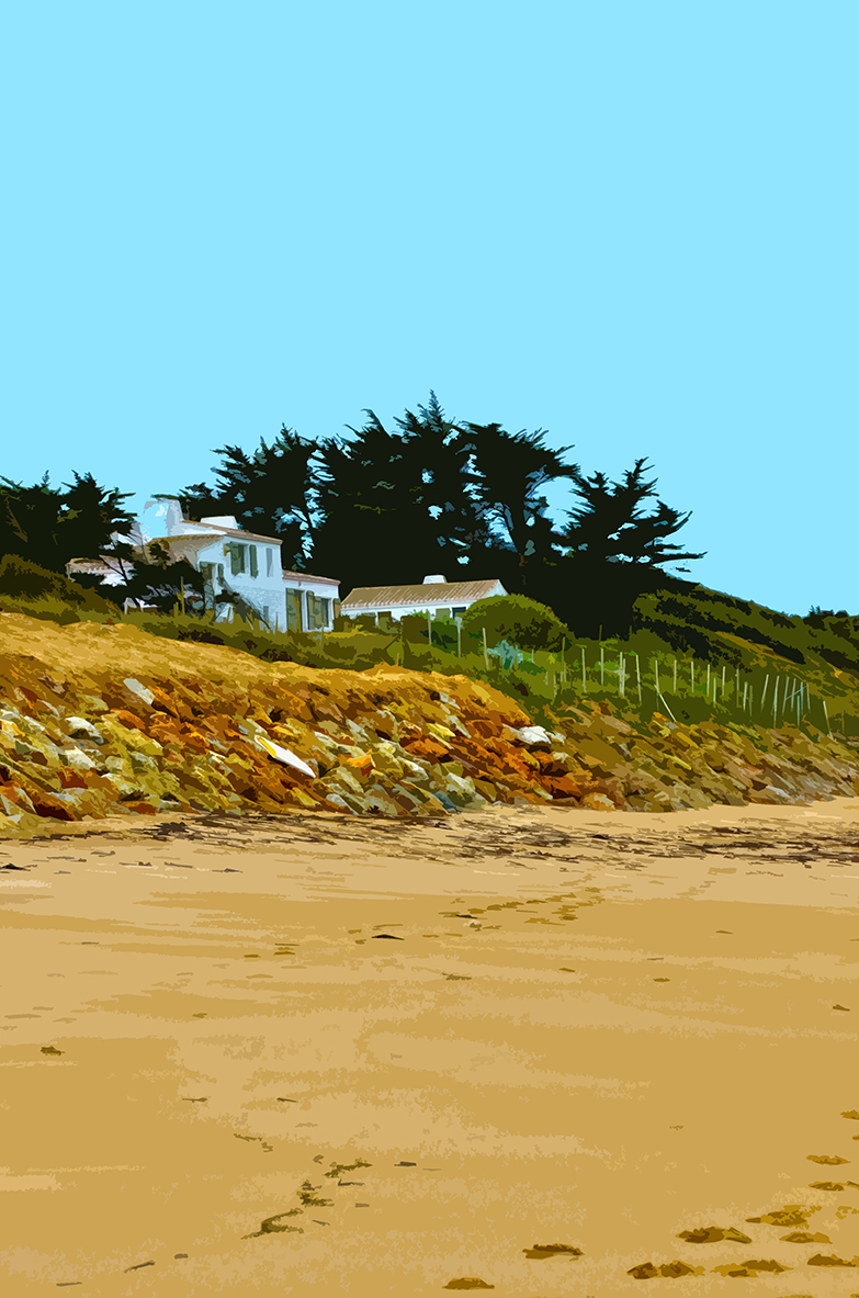 Maison sur la plage – La Madeleine