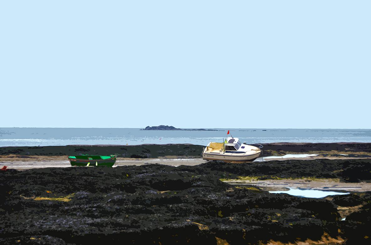 Bateaux à marée basse – 2 - Le Vieil