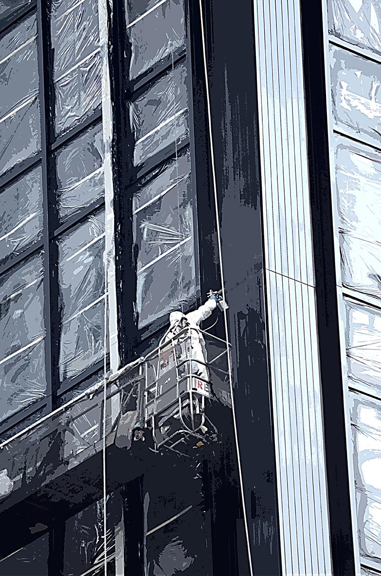 Peinture - Manhattan