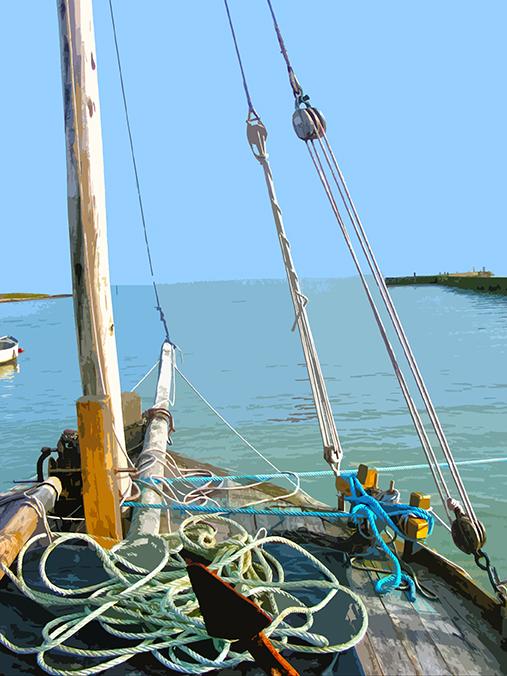 Proue de bateau