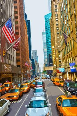 Drapeau - Manhattan