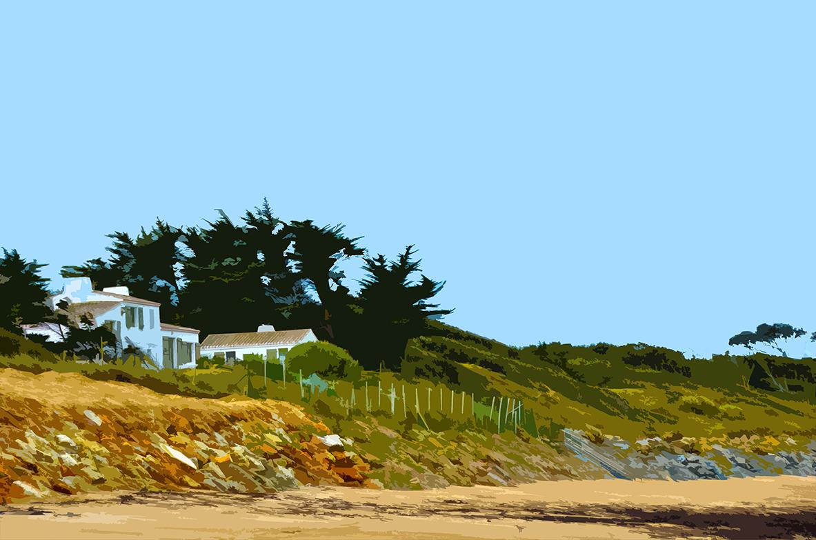 Maison sur la plage – 2