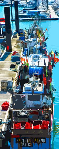 Bateaux au port - 3