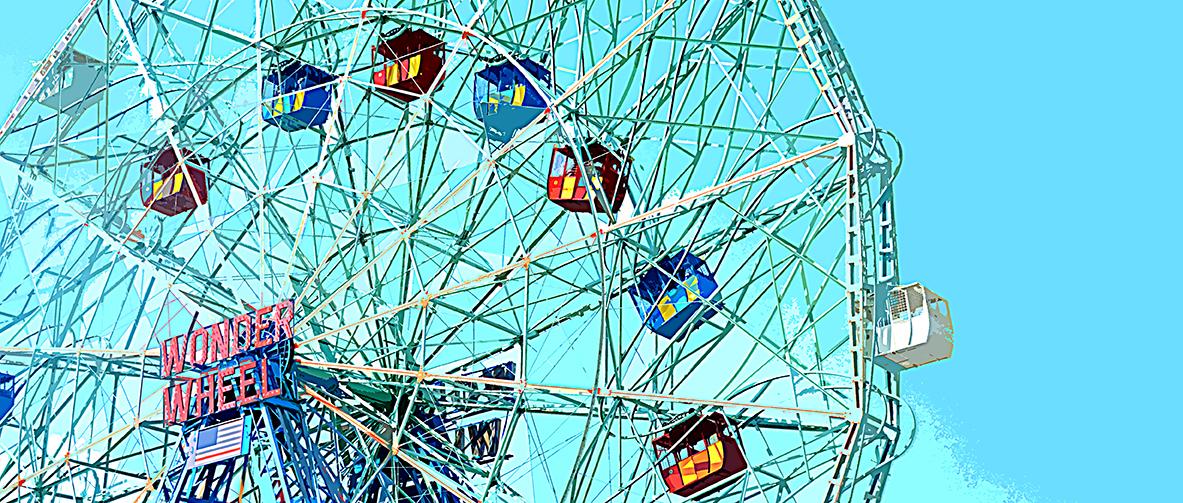 Grande roue – 3 - Coney Island