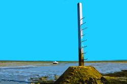 Refuge et bateau sur le Gois - 3