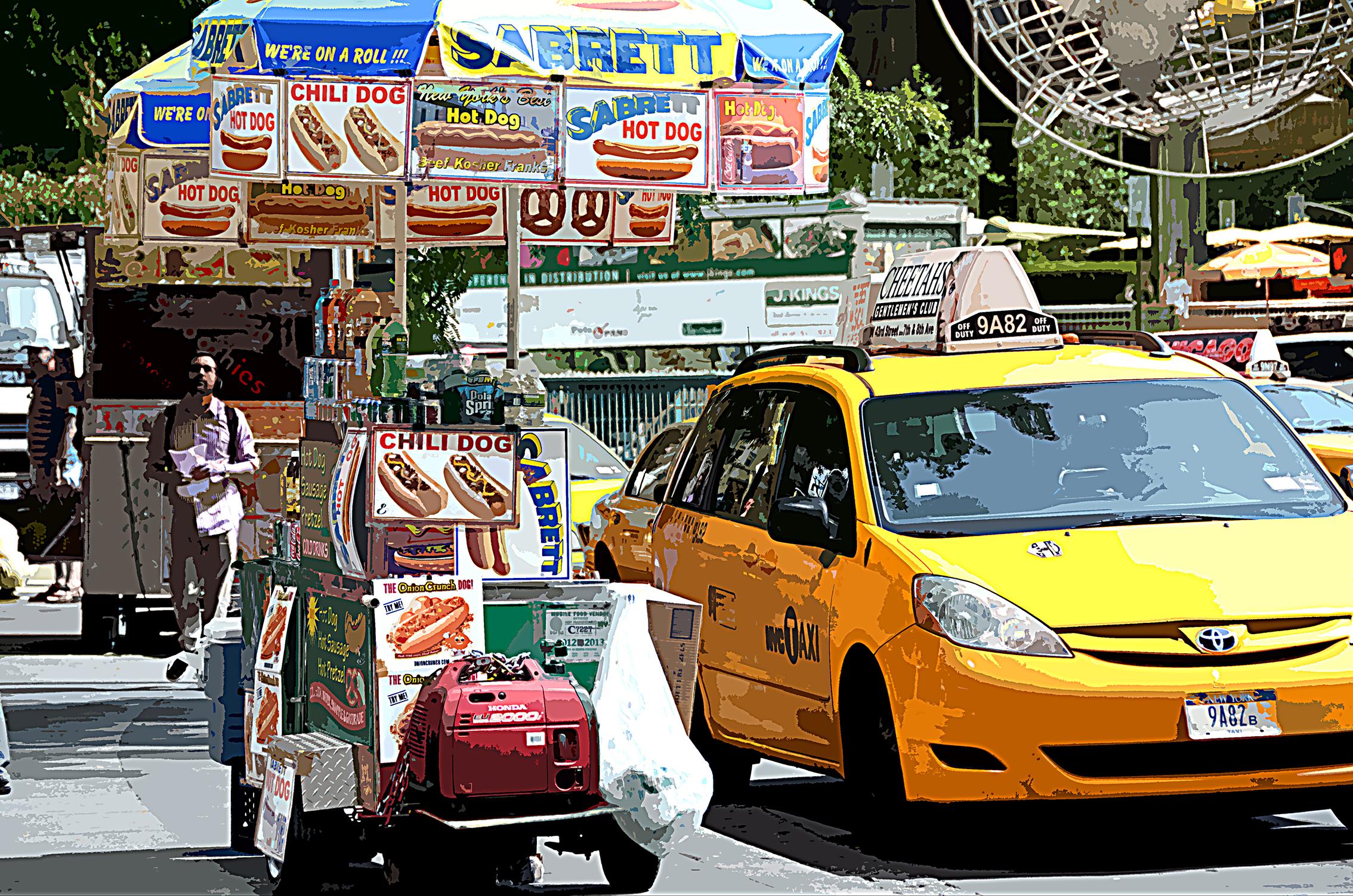 Hot-dog - Manhattan