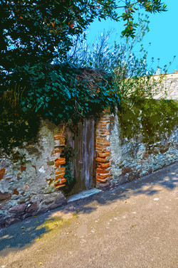 Porte de jardin