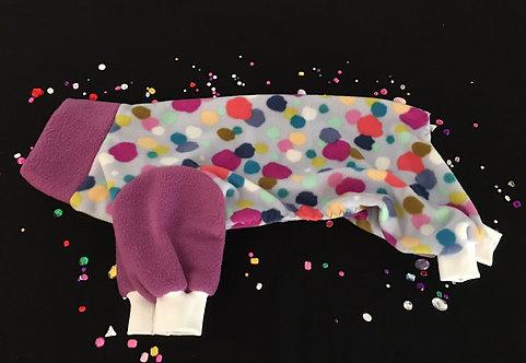 Fleece Dog Pajamas - Snuggly for Your IG - MEDIUM