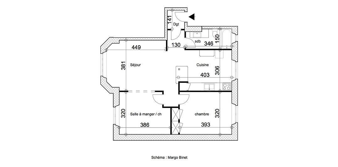 Appartement Comte plan