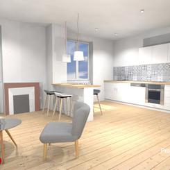 3D - Valorisation d'un bien immobilier avec travaux