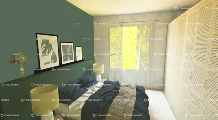 3D chambre