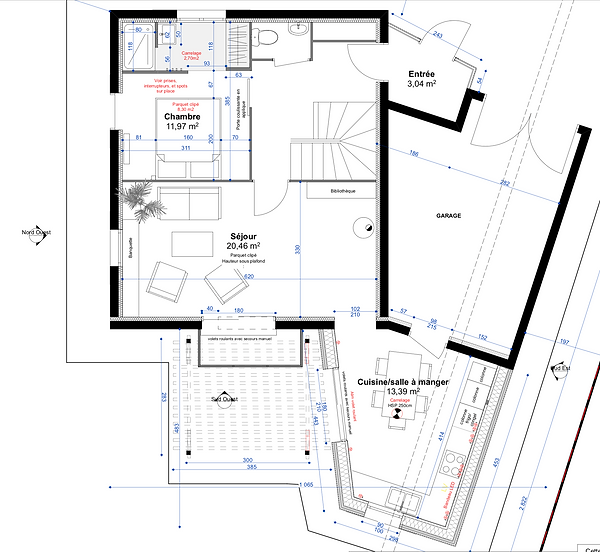 plan projet extension