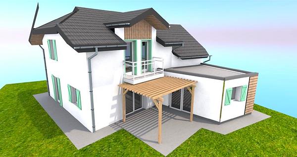 3D projet extension
