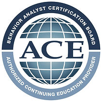 Behavior Analyst Certification Board - Authorized Continuing Education Provider Logo ACE